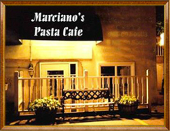 Marciano's Pasta Café in Waterdown, Ontario